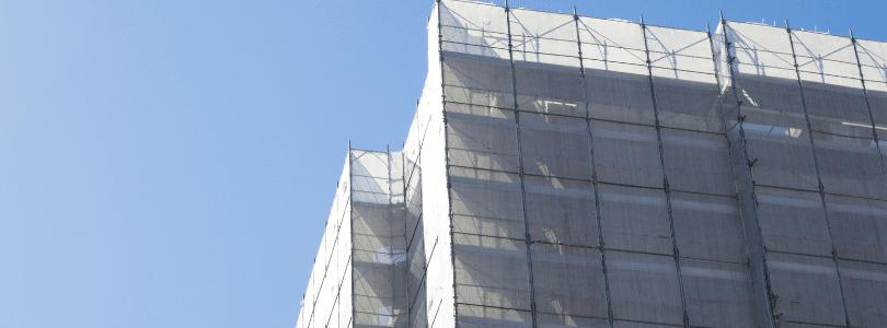 Baustelleneinhausung