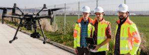 Drohnen im Gerüstbau: besserer Service und neue Geschäftsfelder