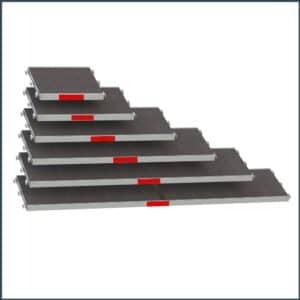 Stahlgerüst mit Alu-Robustboden