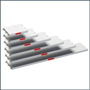 Stahlgerüst mit Vollaluboden