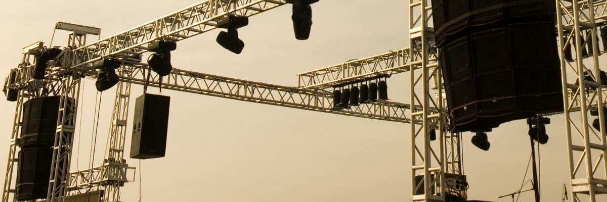 Eventgerüste und Bühnenbau